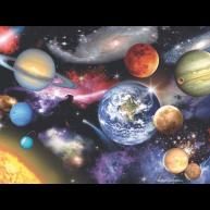 Naprendszer neon puzzle 100 darabos