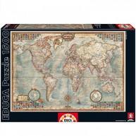 Educa Antik világtérkép, 1500 darabos