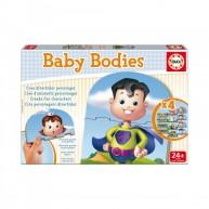 Educa Testek bébi puzzle, 12 darabos
