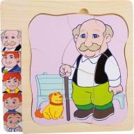 Az öregedés története, hogyan lettem Nagypapa puzzle 11029