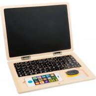 Fa játék laptop mágneses betűkkel 11193