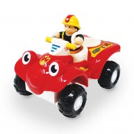 WOW Toys Bertie tűzoltó quad, tűzoltóval 10311