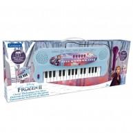 Lexibook Jégvarázsos Elektromos zongora mikrofonnal és 32 billentyűvel
