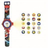 Mario Kart projektoros karóra 20 motívummal