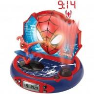 Pókember 3D projektoros óra szuperhős hangokkal