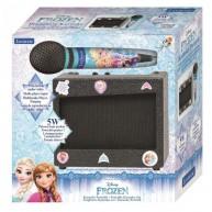 Jégvarázs hordozható hangszóró karaoke mikrofonnal