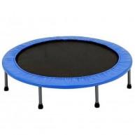 Összecsukható 100cm-es trambulin 6 lábbal kék színben