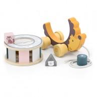 Húzható játék süni formakereső dobozzal PolarB 6058