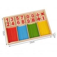 Matematikai játék számokkal és pálcákkal 14843