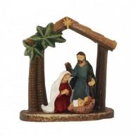 Betlehem a Szent család pálmafával 474346