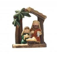 Betlehem a Szent család lámpással 474348