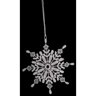 Csipke jégkristály karáconyfadísz 671586