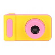 Digitális fényképezőgép gyerekeknek sárga-rózsaszín 1-3MPix
