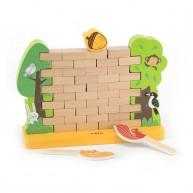 Fal építőjáték - kinél esik le a makk 6817