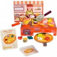 Top Bright játék Pizzéria pizzával, feltétekkel és kiegészítőkkel 6903