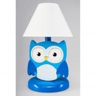 Éjjeli lámpa gyerekszobába Baglyos - Kék