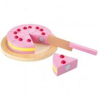 Legler szeletelhető játék cseresznye torta 1211