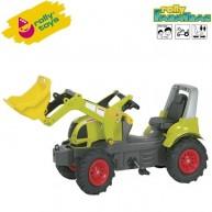 Rolly Toys pedálos traktor markolóval FarmTrac Claas Arion 640 - 710249