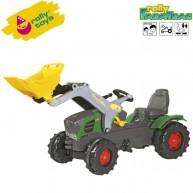 Rolly Toys gyerek pedálos traktor markoló lapáttal FarmTrac Fendt 211 Vario 611058