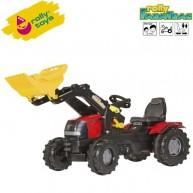 Rolly Toys gyerek traktor markolóval FarmTrac Case Puma CVX 225 - 611065