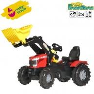 Rolly Toys pedálos gyerek traktor FarmTrac Massey Ferguson 8650 611133