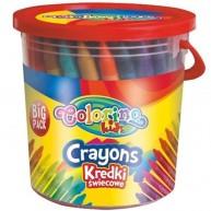 Colorino Kids vödrös zsírkréta 64db-os 33008