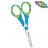 Colorino Kids Gumírozott nyelű gyerek olló  kék-zöld  38553PTR-2