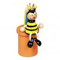 Ceruzatartó ceruzákkal méhecskés 1318-E