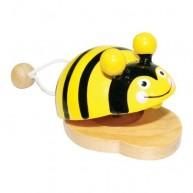 Játék kasztanyetta méhecskés 1311-D
