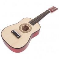 Játék gitár fém húros 1233
