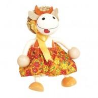 IMP-EX rugós boci lány figura kalapban 3843-9