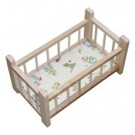 IMP-EX Kicsi fa babaágy játékbabáknak natúr 0279-C