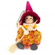 IMP-EX boszorkány rugós figura bordó kalapban 3843-103