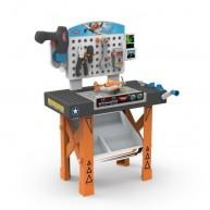 SMOBY munkapad és műhely Repcsik 20 részes mechanikus csavarozóval 500255
