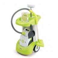 SMOBY elektromos pórszívó takarítókocsival és 3 kigészítővel 24406