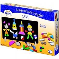 DETOA mágneses puzzle gyerekek 12906