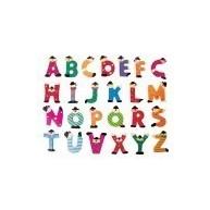 ABC betűi fából