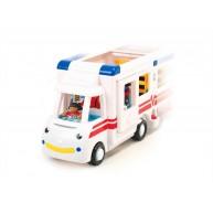 Mentő, Tűzoltó, Rendőr autó